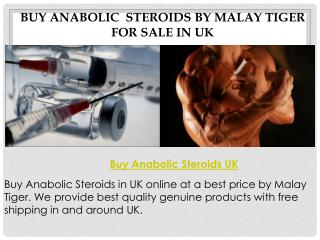 Buy Anabolic Steroids UK