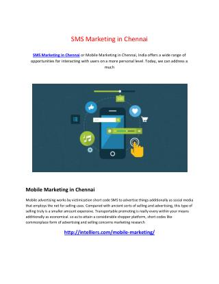 SMS  Marketing  in  Chennai