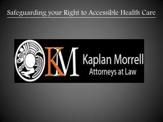 Greeley Workers Compensation Lawyer - Greeley Disability Lawyer - Kaplan Morrell
