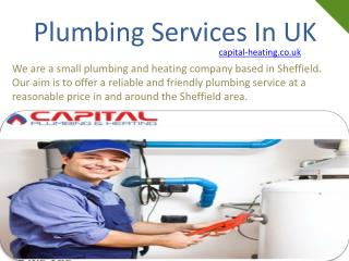 plumbing services in uk