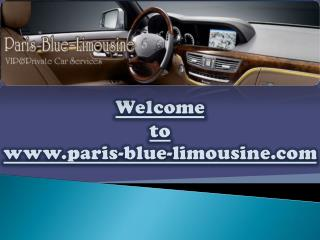 Paris Limousine Car Service