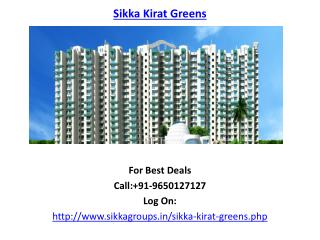 Sikka Kirat Greens Residential Apartments