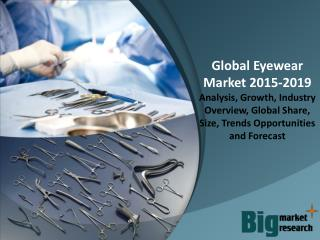 Global Eyewear Market 2015 - Size, Trends, Growth & Forecast to 2019