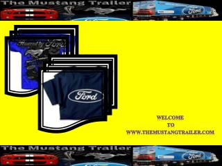 Ford Mustang Shirts and Hats