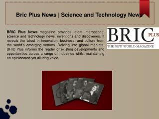 Science and Technology News