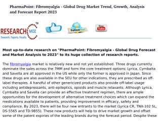 PharmaPoint: Fibromyalgia - Global Drug Forecast and Market Analysis to 2023