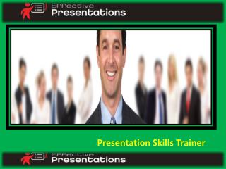 Effective Presentation Skills Training Seminars