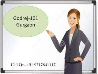 Book new Apartments - Godrej 101 at  Gurgaon