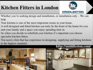 Best Kitchen Fitters in London