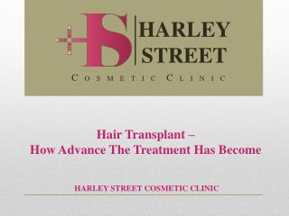 Hair Transplant – How Advance The Treatment Has Become