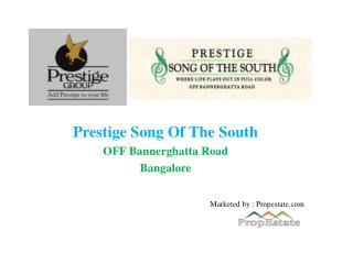 Prestige Song of South - 8147203771- Bangalore
