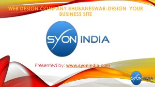 WEB DESIGN COMPANY BHUBANESWAR-DESIGN YOUR BUSINESS SITE