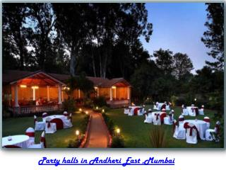 Party venues in Andheri East Mumbai