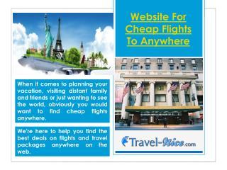 Best Last Minute Flight Website