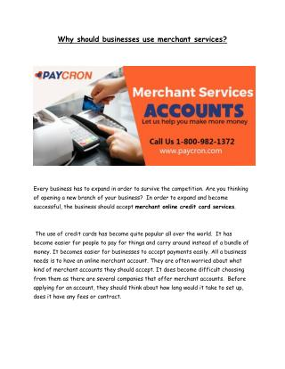 Merchant Services Accounts Florida