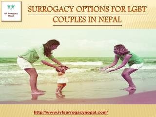 Surrogacy Options for LGBT Couples in Nepal