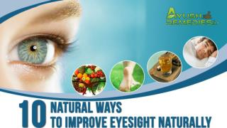 Best Way to Improve Eyesight Naturally without Glasses
