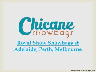 Royal Show Showbags at Adelaide, Perth, Melbourne