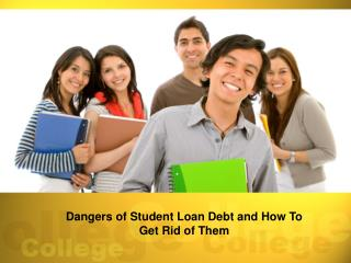 How To Overcome Student Loans