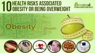 Health Risks Associated With Obesity or Being Overweight and How to Avoid Them