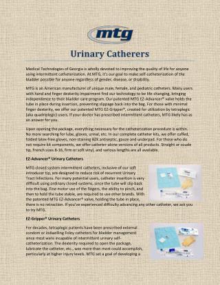 Urinary Catherers