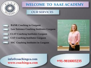 CAT Coaching Center in Gurgaon