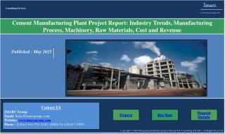 Cement Market and Manufacturing Plant Report
