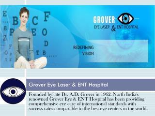Top Eye Hospital in Chandigarh - Grover Eye Hospital