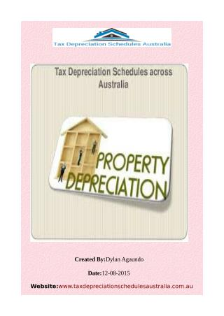 Rental Property Depreciation Ato