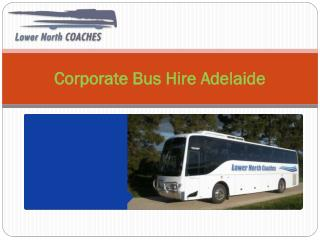 Corporate Bus Hire Adelaide