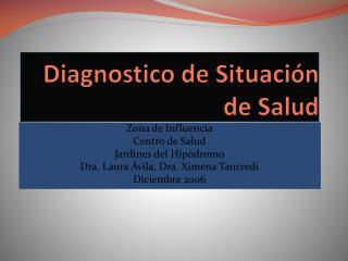 Diagnostico de Situaci n de Salud