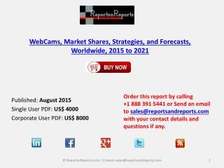 Worldwide WebCams Market