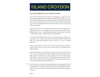 Accommodation in Croydon