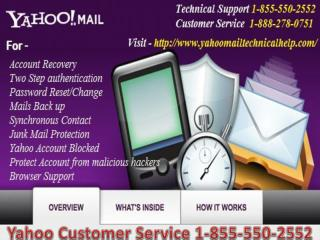 Yahoo Customer 1-855-550-2552 Service Phone Number