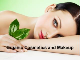 Organic Cosmetics and Makeup
