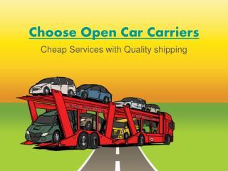 Texas Open Car Carriers