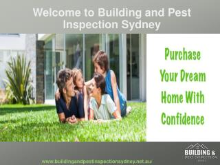 Building Inspections and Pest Control Sydney