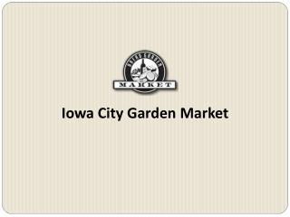 Iowa City Garden Market