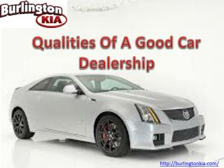 Qualities Of A Good Car Dealership