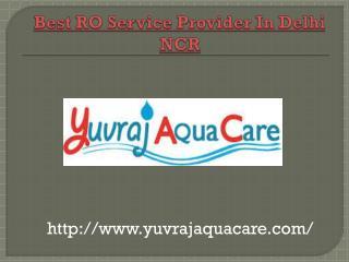 Best RO Service Provider in Delhi NCR
