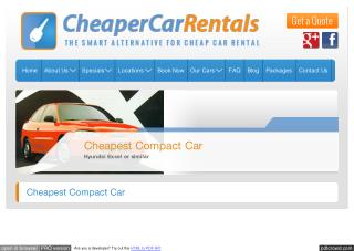 Compact Car for Rent in Melbourne