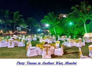 Banquet venues in Andheri West Mumbai