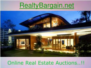 Sell Your House Quickly with RealtyBargain.net