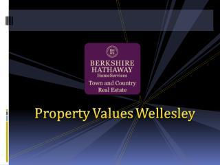 Property Values Wellesley