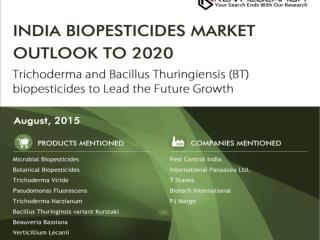 India Biopesticides Market Outlook to 2020