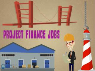 Project finance jobs