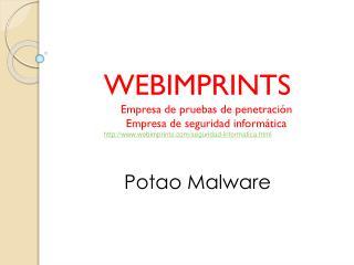 Potao Malware