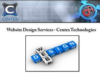 Centex Technologies offers comprehensive website design services for business firms in Dallas, TX. The designers at the