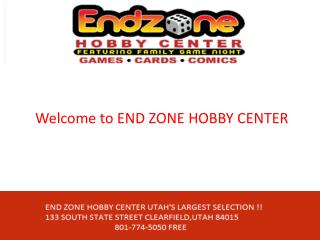 Game stores utah   end zone hobby center