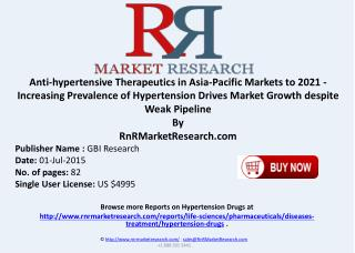 Anti-hypertensive Therapeutics in APAC Markets Deals and Strategic Consolidations to 2021